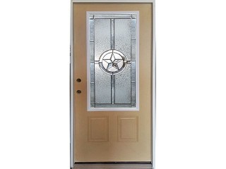 Fiberglass Texas Star Door Unit 22 x 48